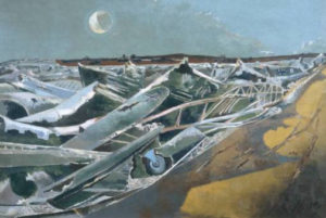 Paul Nash, Totes Meer, 1940, source: