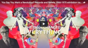 Poster of V&A exhibition: Revolution, 2016. source: https://www.vam.ac.uk/articles/about-the-revolutions-exhibition